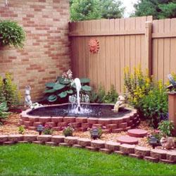 hal yang perlu diperhatikan saat membuat air mancur taman