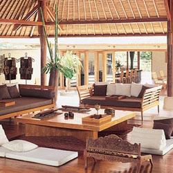 Penataan Furniture Bali Di Ruang Tamu